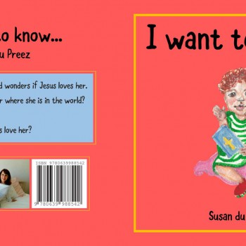 I want to know by Susan du Preez - R100