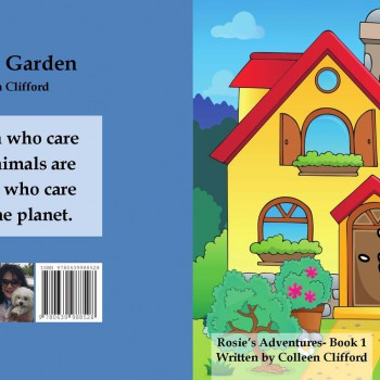 Rosie's garden by Colleen Clifford - R90.00