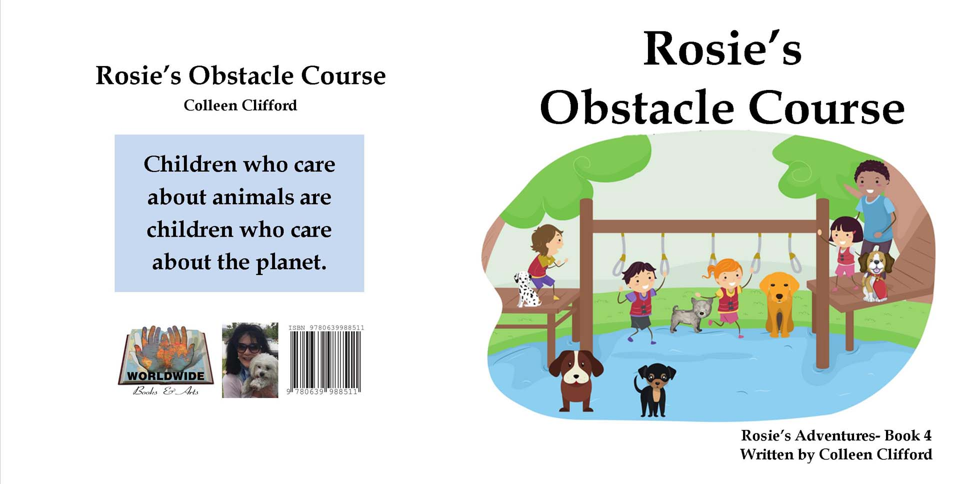 Rosie's obstacle course by Colleen Clifford - R90.00