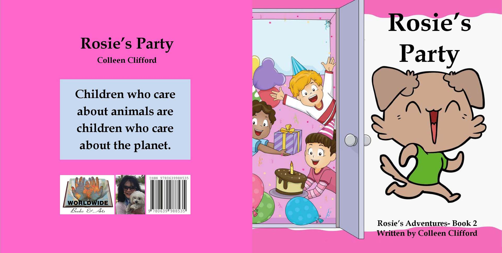 Rosie's party by Colleen Clifford - R90.00